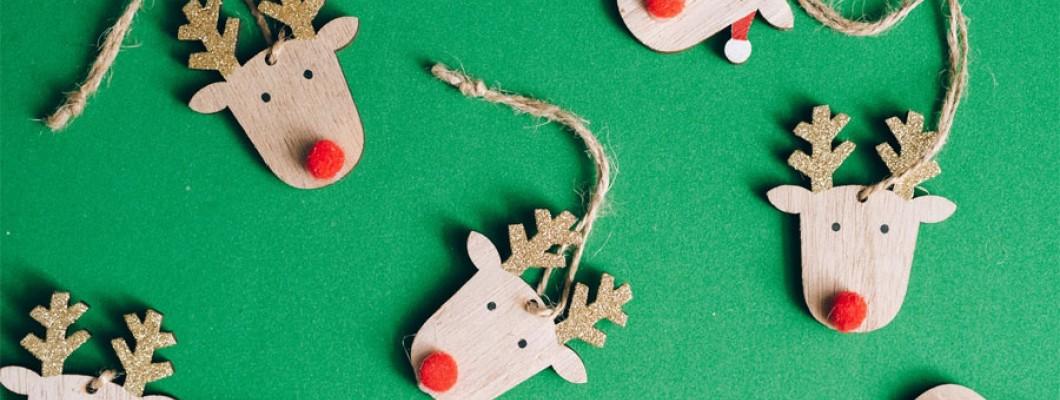 Δημιουργήστε όμορφα Χριστουγεννιάτικα διακοσμητικά με το παιδί σας