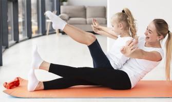 Γυμναστική παιδιών εν μέσω καραντίνας