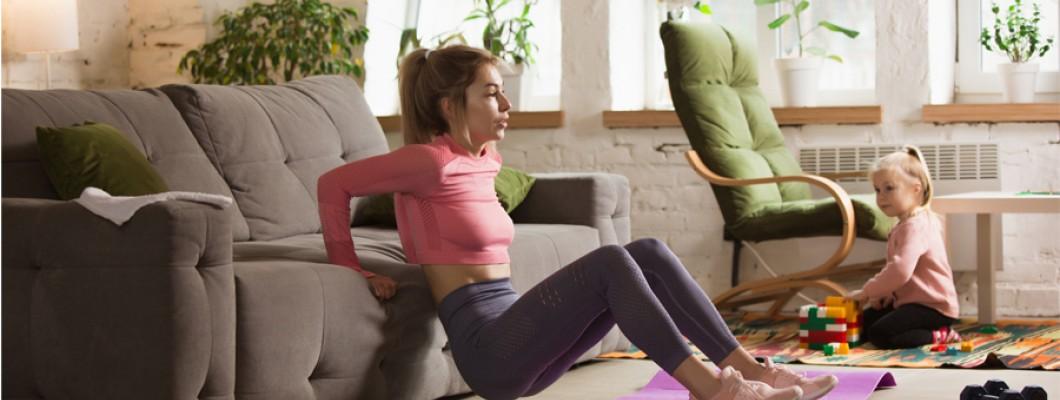 Χρήσιμες συμβουλές για να παραμείνουμε υγιείς και δραστήριοι στο σπίτι