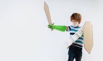 Μετατρέψτε το παιδικό δωμάτιο σε κάστρο ιπποτών